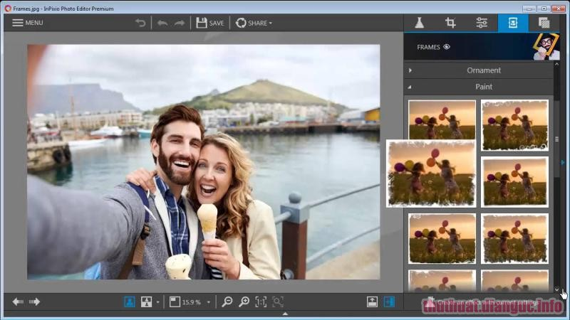 Download InPixio Photo Editor 9.2.7093.21330 Full Crack