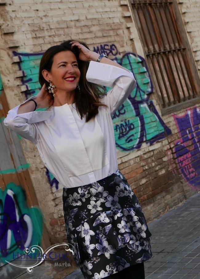hunterchi by marta-marta halcon de villavicencio-fashion blogy tendencias-como combinar falda de cuero-google