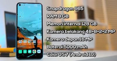 Spek Hp Oppo A92 Lengkap dan Harga menawan