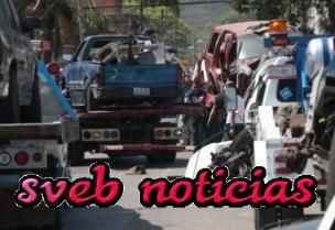 SSP asegura deshuesadero de autos en Rio Blanco Veracruz