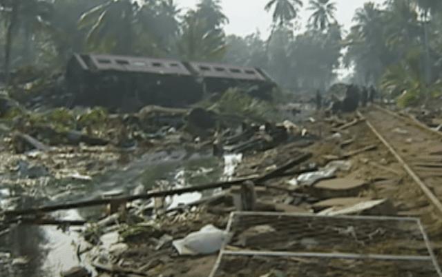 كارثة تسونامي للسكك الحديدية
