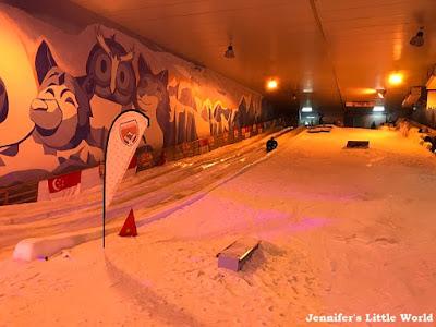 Snow City Singapore sledging