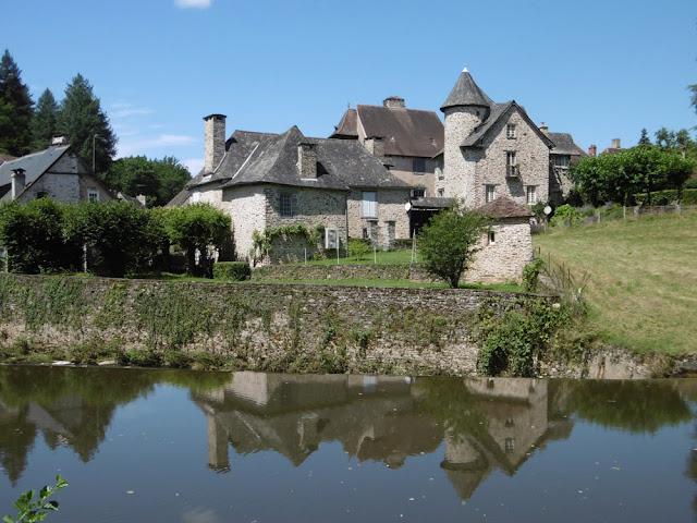Manor house, Ségur le Chateau, Correze, France. Photo by Loire Valley Time Travel.