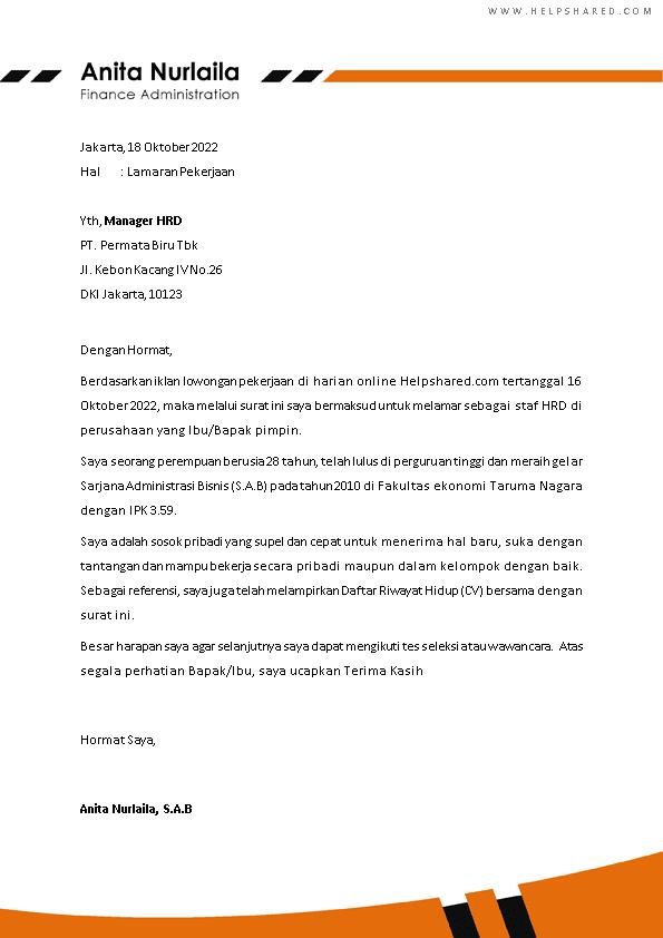 Kop Surat Lamaran Kerja 26
