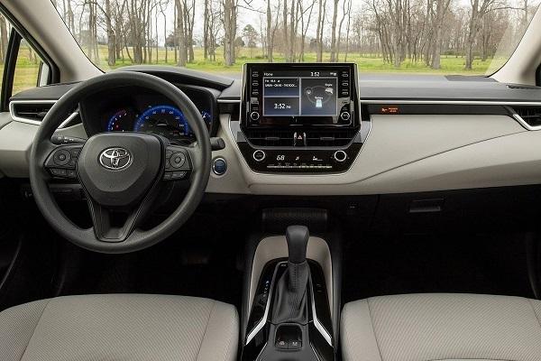 Interior Toyota Corolla 2020