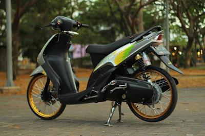 Modifikasi Mio Motor Style Jari-jari