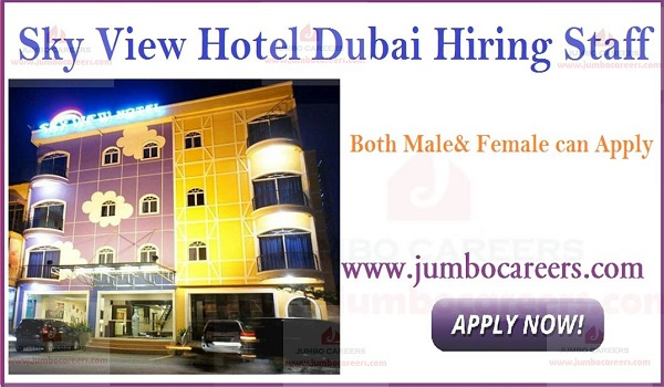 Available hotel jobs in Dubai, UAE hotel job vacancies,