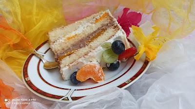 przepis na tort biszkoptowy