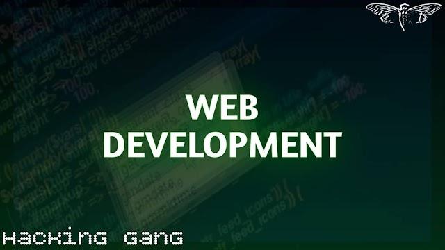 كل ما يجب معرفته عن ال Web Development