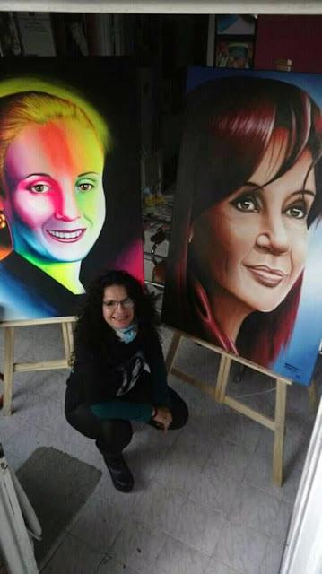 Evita Fernández y Cristina Duarte un solo corazón
