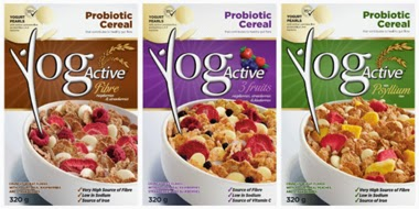 YogActive Fibre, Psyllium, and 3 fruits