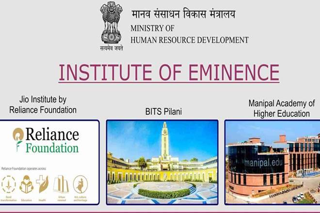 Institutions of Eminence (IoE) Scheme