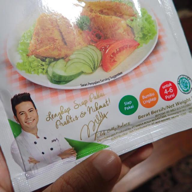 resep chef billy kalangi, bumbu instant mamasuka