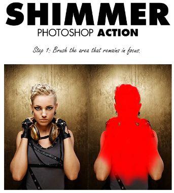 Hướng dẫn sử dụng Shimmer action