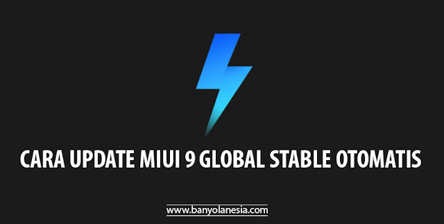 Cara Update MIUI 9 Global Stable