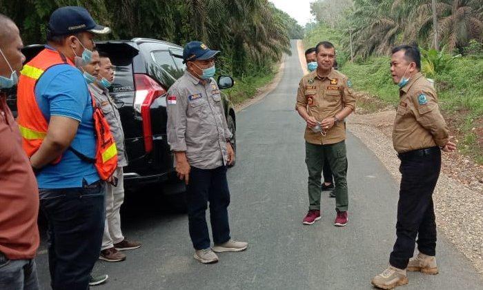 Konsisten Bangun Merangin,Bupati Al Haris Pantau Sejumlah Proyek Jalan di Desa