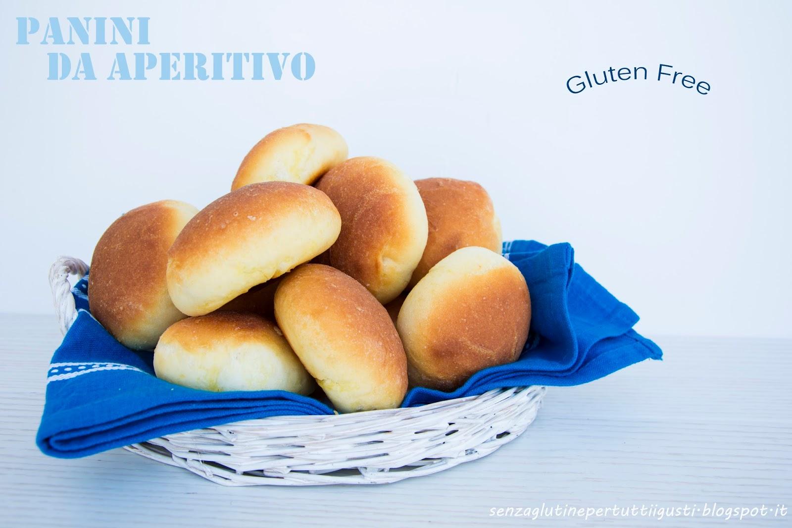 Popolare Senza glutineper tutti i gusti!: Panini da aperitivo senza glutine HO59