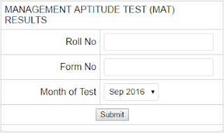 Download AIMA MAT Result