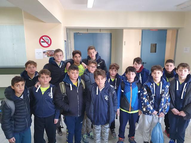 Πρόκριση του Ναυτικού Ομίλου Ναυπλίου στην Β΄ φάση του πρωταθλήματος Μίνι Παίδων