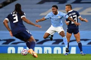 نتيجة مباراة مانشستر سيتي واوليمبياكوس اليوم الأربعاء بتاريخ 25-11-2020 دوري أبطال أوروبا