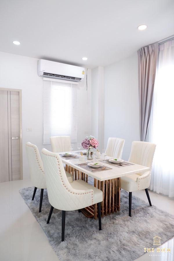 เดอะริชบางแสน The Rich Bangsaen บ้านแฝด & ทาวน์โฮม 2 ชั้น เมืองชลบุรี 4 ห้องนอน 4 ห้องน้ำ