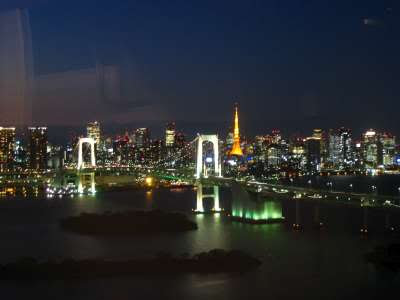 The Cube: Odaiba: Of Fuji TV and sushi dinner