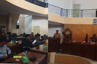 DPRD Kobi Gelar Paripurna Penyampaian Jawaban Walikota Atas PU Fraksi Terhadap 4 Raperda