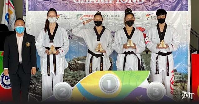 Milena Titoneli é ouro no Pan de taekwondo no México