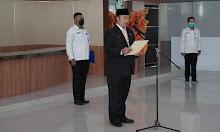Sekda Ketapang Alexander Wilyo Lantik 2 Pejabat Pengawas
