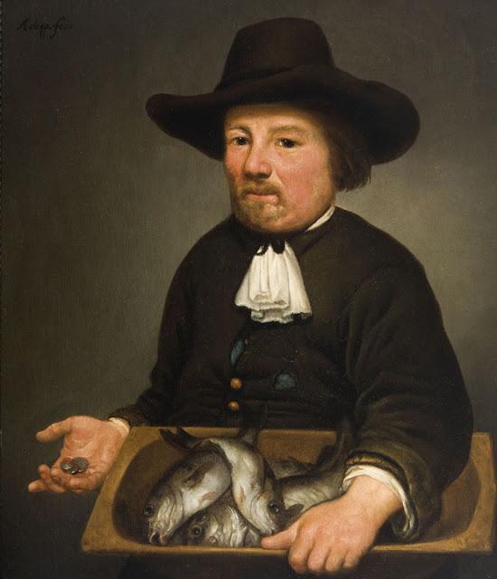 Альберт Кёйп - Продавец рыбы