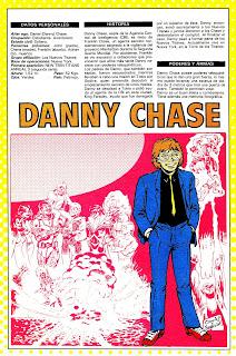 Danny Chase ficha dc comics