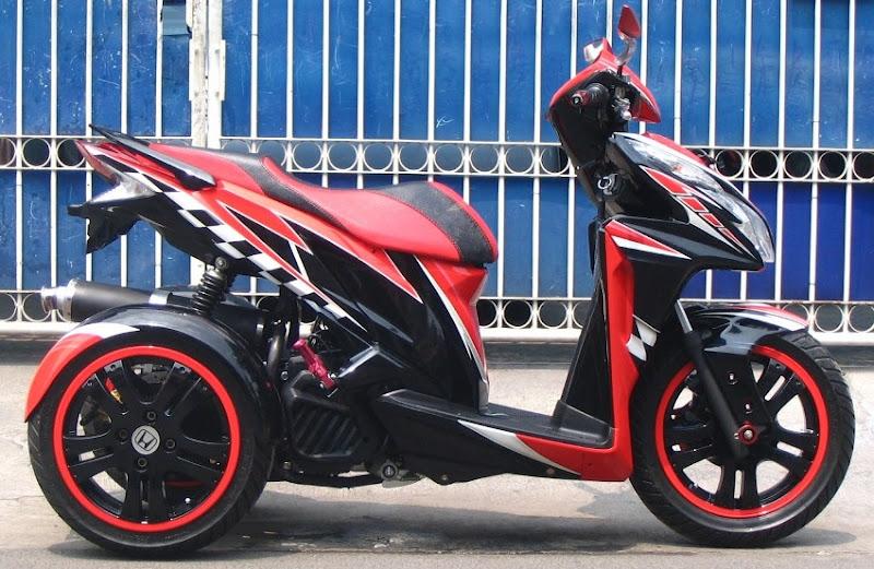 Modifikasi Honda Vario 125 Pgm Fi 2014