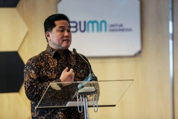 Erick Thohir Cerita Relawan hingga Menteri Minta Jatah Komisaris