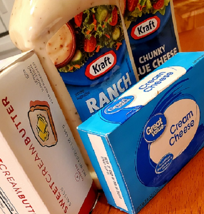 this is the ingredients to make ranch baked chicken breasts