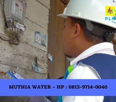 daya listrik mesin air isi ulang