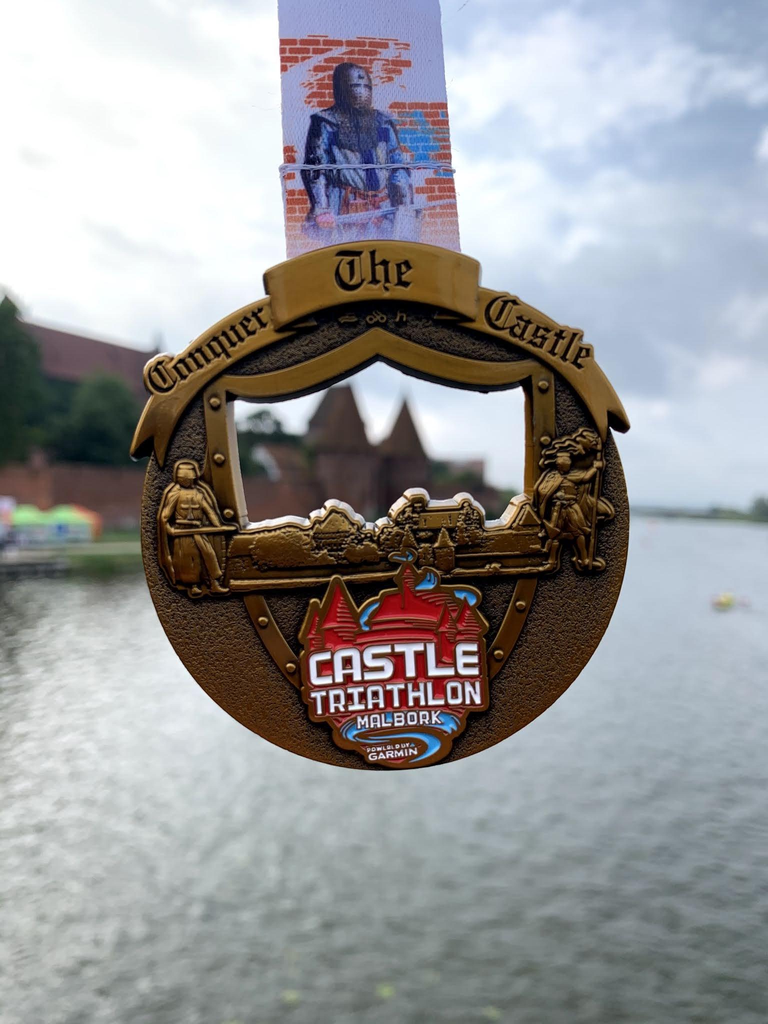Castle Malbork Triathlon 2020 – relacja z pandemicznego triathlonowania