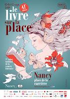 La BD s'invite au Livre sur la Place, à Nancy...; place carrière; nancy; livre; livre sur la place; septembre; auteur; artiste;