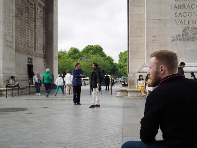 24 hours in Paris - Arc de Triomphe