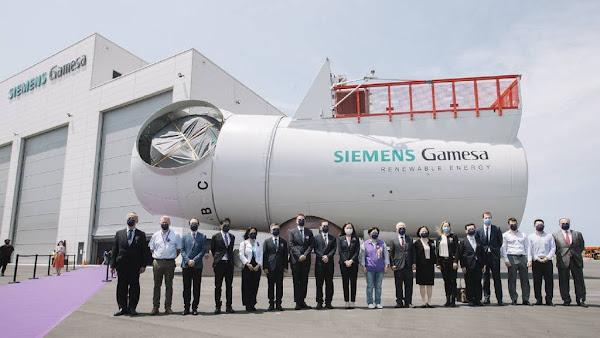 沃旭能源與西門子歌美颯 離岸風電風機機艙組裝廠台中落成