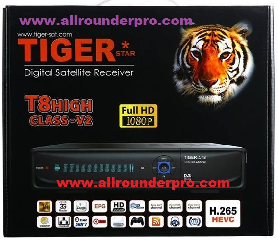 TIGER*T8 HIGH CLASS V2 - all rounder pro