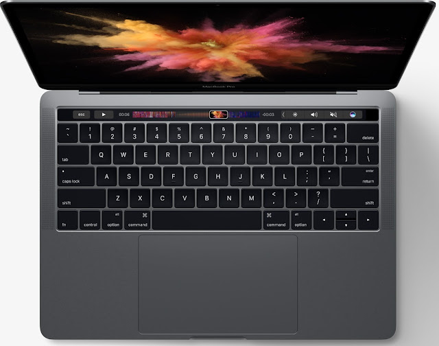 Apple MacBook Pro 13 or 15 Inch OLED touch panel