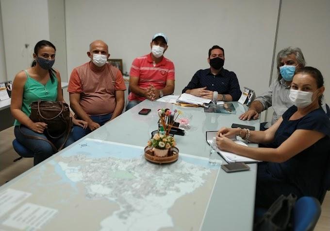 Prefeito Inácio Nóbrega e vice-prefeito Cícero Maciel estiveram na capital JP buscando parcerias para o município