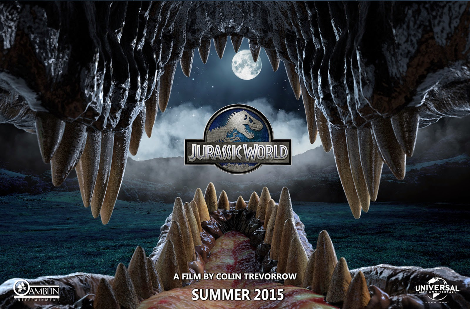 Jurassic World, affiche de fan