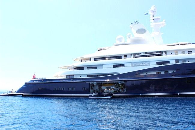 yacht from Abu-Dhabi