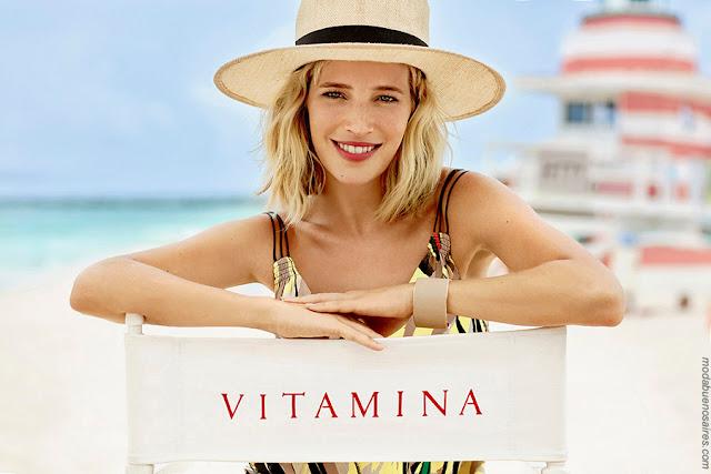 Vitamina colección primavera verano 2018 con Luisana Lopilato.