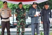 Ciptakan Pilkades Damai, Pemkab Garut Gelar Pasukan Pengamanan