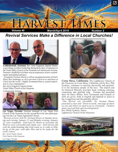 Harvest Times, Volume 40 Number 2, March - April 2018