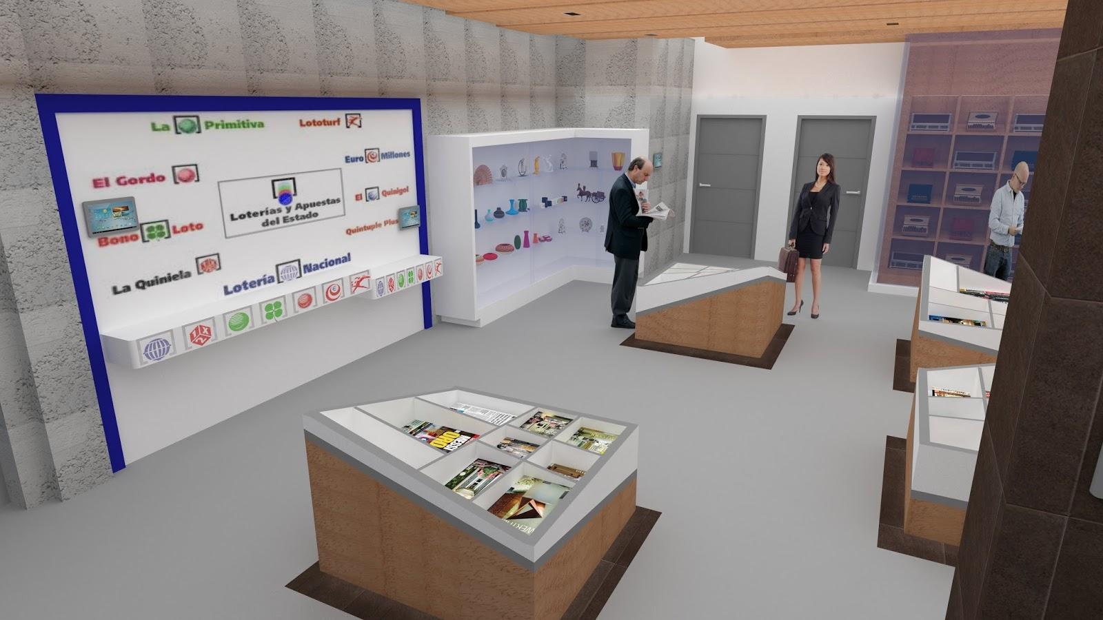 Dise o de interiores escuela de arte de motril pfc for Escuela de decoracion de interiores