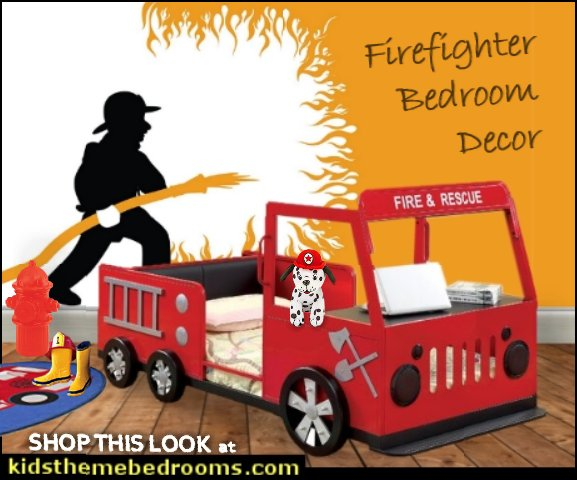 firetruck bed fire engine bedroom furniture kids firetruck beds fireman truck kids bed