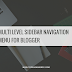 Multi Level Sidebar Navigation Menu For Blogger